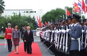 Nâng quan hệ Việt Nam - Thái Lan lên tầm đối tác chiến lược