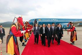 Chủ tịch Quốc hội Nguyễn Sinh Hùng thăm chính thức Hàn Quốc