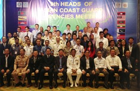 Cảnh sát biển Việt Nam tham dự Hội nghị Những nhà đứng đầu Cảnh sát biển khu vực Châu Á lần thứ 9