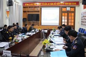 Hội đồng khoa học BTL Cảnh sát biển nghiệm thu đề tài khoa học kỹ thuật năm 2014