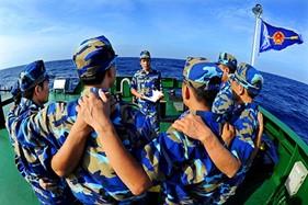 """Nhiều bức ảnh về Cảnh sát biển tại triển lãm ảnh """"Hoàng Sa, Trường Sa - biển đảo Việt Nam"""""""