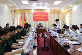 Đoàn công tác của Bộ Tổng Tham mưu kiểm tra công tác SSCĐ tại BTL Vùng Cảnh sát biển 4