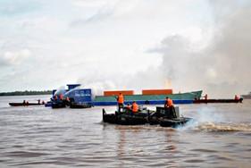 Quân khu 9 khai mạc hội thao sử dụng phương tiện thủy nội địa, tìm kiếm cứu nạn