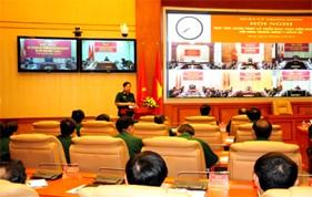 Hội nghị trực tuyến Học tập, quán triệt và triển khai thực hiện Nghị quyết Trung ương 7 (Khóa XI)