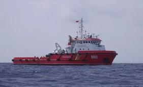 Cảnh sát biển cứu 11 ngư dân gặp nạn ở Hoàng Sa