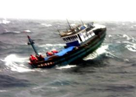 48 giờ trôi dạt trong cơn bão ở Hoàng Sa
