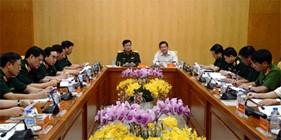 Ban chỉ đạo Bộ Quốc phòng triển khai các hoạt động kỷ niệm 70 năm Cách mạng Tháng Tám và Quốc khánh 2/9