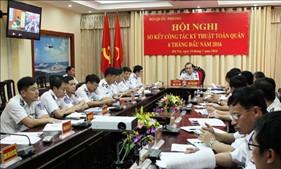 Sơ kết công tác kỹ thuật toàn quân 6 tháng đầu năm 2016