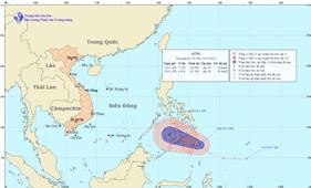 Điện triển khai công tác ứng phó áp thấp nhiệt đới
