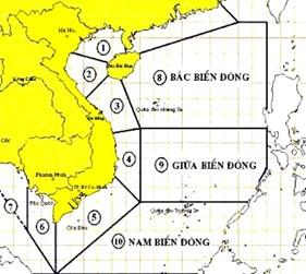 Một số thông tin cần thiết khi tàu hoạt động trên vùng biển Quần đảo Trường Sa
