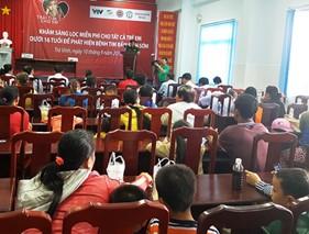 Hơn 800 trẻ em được khám sàng lọc bệnh tim miễn phí ở Trà Vinh