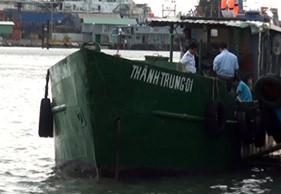 Vùng Cảnh sát biển 3 bắt giữ tàu vận chuyển dầu trái phép