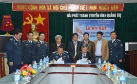 BTL Vùng CSB 2 ký kết quy chế phối hợp với Đài Phát thanh và Truyền hình tỉnh Quảng Trị