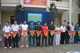 Đoàn Thanh niên, Hội Phụ nữ BTL Vùng Cảnh sát biển 3 tham gia hội thi các môn thể thao dân tộc phường 11/Tp. Vũng Tàu năm 2014