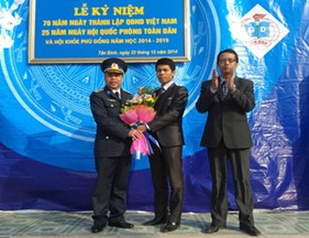 BTL Cảnh sát biển tham gia giao lưu cùng các trường học nhân kỷ niệm 70 năm Ngày thành lập Quân đội nhân dân Việt Nam, 25 năm Ngày Hội quốc phòng toàn dân