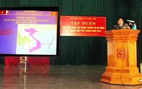 BTL Vùng Cảnh sát biển 1 tuyên truyền biển, đảo tại Thái Nguyên