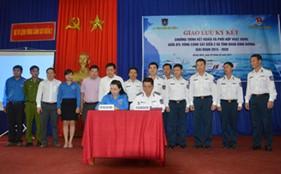 Giao lưu ký kết chương trình kết nghĩa và phối hợp hoạt động giữa BTL Vùng Cảnh sát biển 2 và Đoàn TNCS tỉnh Bình Dương