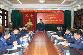 Cục Chính trị BTL Cảnh sát biển tổ chức Hội nghị triển khai nhiệm vụ 2015