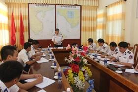 Phúc tra công tác thực hiện nhiệm vụ Cảnh sát biển năm 2015 tại Cụm Đặc nhiệm PCTP ma túy số 4
