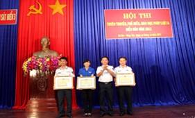 Vùng cảnh sát biển 3 tổ chức thành công Hội thi tuyên truyền, phổ biến, giáo dục pháp luật và biển đảo năm 2013