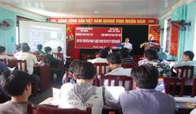 Cụm đặc nhiệm PCTP ma túy số 1 Phối hợp tổ chức tuyên truyền pháp luật cho người dân khu vực đảo Bạch Long Vĩ - Hải Phòng