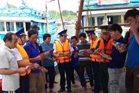 Cụm Đặc nhiệm PCTP ma túy số 1 Tuyên truyền biển, đảo và pháp luật phòng chống ma túy