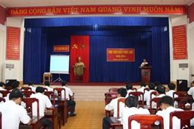 """BTL Vùng CSB 2 thực hiện """"Ngày pháp luật nước Cộng hòa xã hội chủ nghĩa Việt Nam"""""""