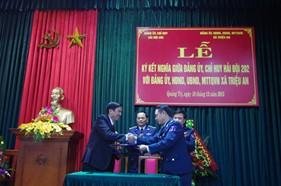 Hải đội 202 tăng cường xây dựng mối đoàn kết quân dân