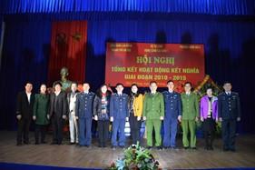 BTL Vùng Cảnh sát biển 1 tổ chức Hội nghị tổng kết hoạt động kết nghĩa với các địa phương giai đoạn 2010- 2015