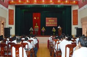 BTL Vùng Cảnh sát biển 2 tổ chức thành công Hội nghị Đoàn kết quân dân năm 2015 với huyện Núi Thành
