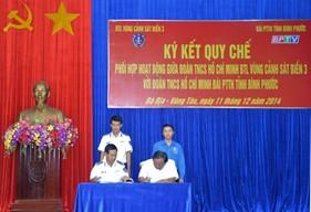 BTL Vùng Cảnh sát biển 3 ký kết quy chế phối hợp hoạt động tuyên truyền