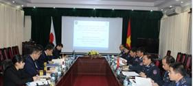 Họp song phương lần thứ nhất giữa Cảnh sát biển Việt Nam và Lực lượng Bảo vệ bờ biển Nhật Bản