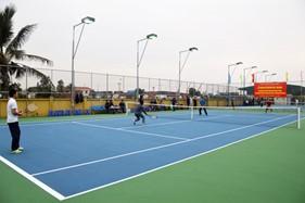 BTL Vùng Cảnh sát biển 1 khánh thành, bàn giao sân tennis và thi đấu giao hữu thể thao