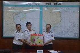 Thủ trưởng Bộ Tư lệnh Cảnh sát biển thăm, chúc Tết các đơn vị phía Nam