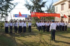 """BTL Vùng Cảnh sát biển 2 tổ chức Tết trồng cây """"Đời đời nhớ ơn Bác Hồ"""""""