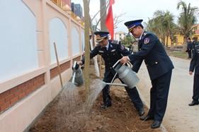 BTL Vùng Cảnh sát biển 1 phát động Tết trồng cây 2015