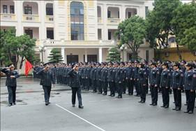 BTL Cảnh sát biển tổ chức ra quân Huấn luyện và phát động thi đua năm 2015