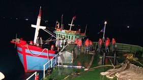BTL Vùng Cảnh sát biển 1 cứu nạn tàu cá trên biển