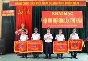 BTL Cảnh sát biển tổ chức khai mạc Hội thi thợ giỏi lần thứ nhất