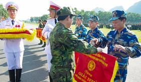 BTL Cảnh sát biển đạt giải cao trong Hội thi, hội thao toàn quân năm 2016.