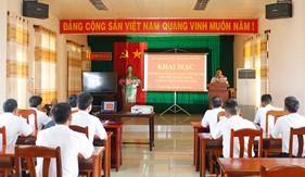 Đảng bộ Vùng Cảnh sát biển 4 và Cụm Đặc nhiệm PCTP ma túy số 4 bồi dưỡng lý luận chính trị cho đối tượng đảng và đảng viên mới