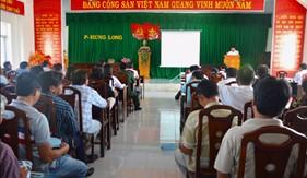 BTL Vùng CSB 3 truyên truyền, phổ biến pháp luật cho ngư dân Thành phố Phan Thiết
