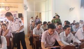 Cụm ĐN PCTP ma túy số 4 phối hợp tuyên truyền pháp luật tại Tp. Cà Mau