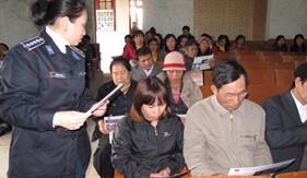BTL Cảnh sát biển tuyên truyền pháp luật phòng, chống ma túy cho nhân dân