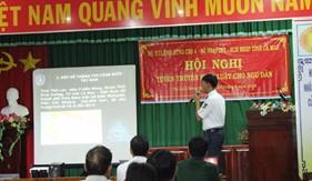 BTL Vùng Cảnh sát biển 4 tuyên truyền pháp luật cho ngư dân tỉnh Cà Mau