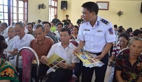 BTL Vùng Cảnh sát biển 1 đẩy mạnh phối hợp tuyên truyền phổ biến giáo dục pháp luật cho cán bộ, nhân dân vùng biên giới hải đảo