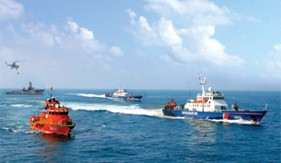 Nâng cao hiệu quả phối hợp hoạt động giữa Cảnh sát biển với các lực lượng