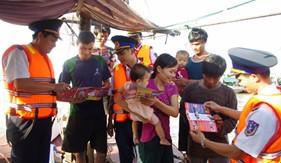 Cụm ĐNPCTP ma túy số 1 Tuyên truyền pháp luật phòng, chống ma túy cho ngư dân