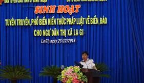 BTL Vùng Cảnh sát biển 3 tăng cường truyên truyền, phổ biến pháp luật cho ngư dân
