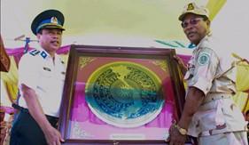 BTL Vùng Cảnh sát biển 4 tham dự Lễ khánh thành Trụ sở Ủy ban An ninh biển Vương quốc Campuchia